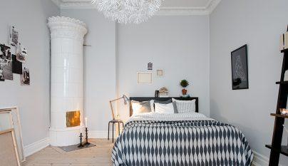 dormitorio blanco y negro24
