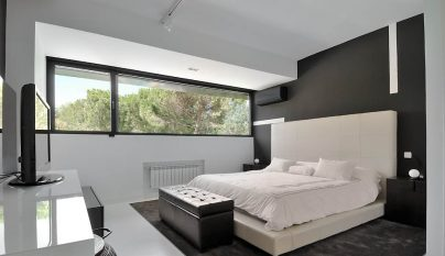 dormitorio blanco y negro25