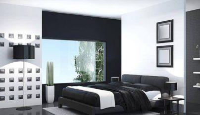 Fotos de dormitorios en blanco y negro - Decorar dormitorio blanco ...