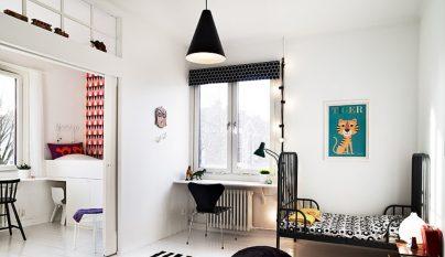 dormitorio blanco y negro30