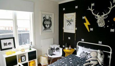 dormitorio blanco y negro35