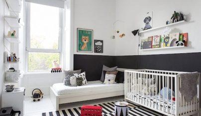 dormitorio blanco y negro36