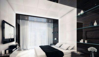 dormitorio blanco y negro8