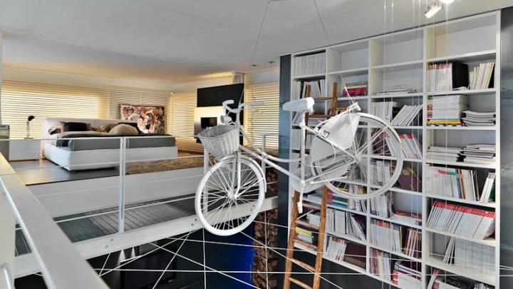 dormitorio loft milan