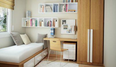 Dise os para cuartos de ba o peque os - Ideas dormitorios pequenos ...