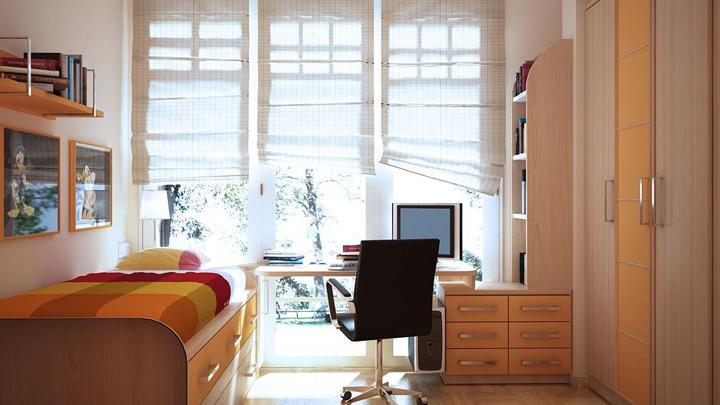 Decorablog revista de decoraci n - Soluciones para dormitorios pequenos ...
