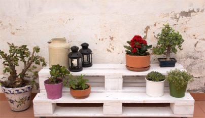 Decorablog revista de decoraci n - Decorar terrazas reciclando ...