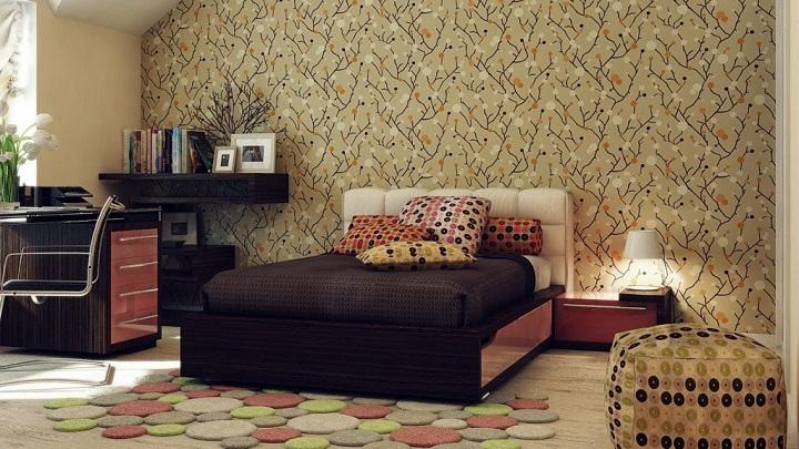 papel pintado dormitorio foto2
