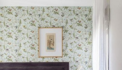 Consejos e ideas para decorar el dormitorio con papel pintado - Decorar dormitorio con papel pintado ...