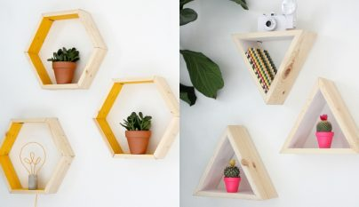 diy-estanteria-hexagonal1