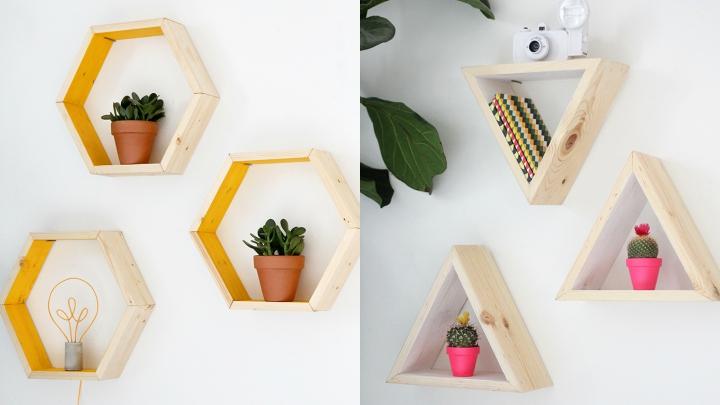 diy-estanteria-hexagonal1