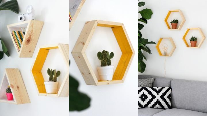 diy-estanteria-hexagonal2