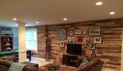 Decorablog revista de decoraci n - Revestir pared con madera ...