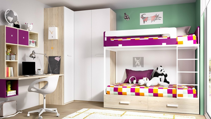 Ideas para habitacion juvenil interesting inspiracin - Ideas para decorar dormitorio juvenil ...