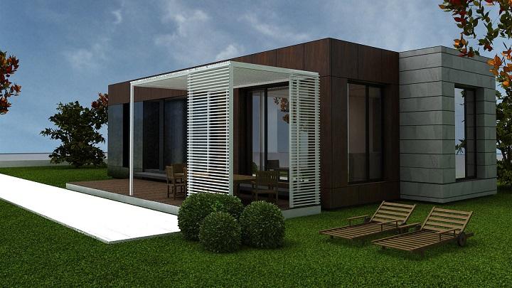 Cu nto cuesta una casa prefabricada - Cuanto cuesta el material para construir una casa ...