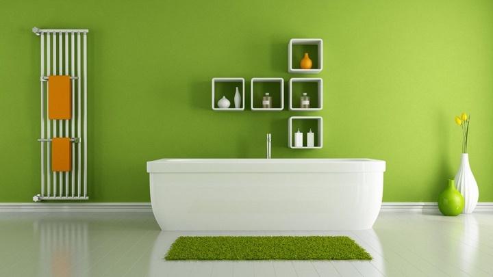 cuarto-de-bano-verde
