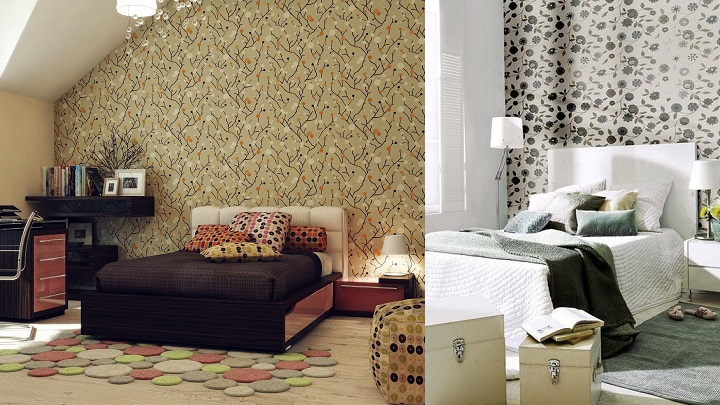 10 ideas para decorar la pared del cabecero - Cabecero cama pintado ...