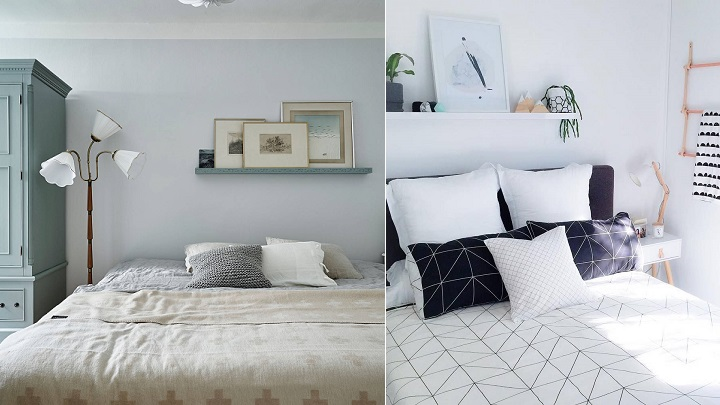 10 ideas para decorar la pared del cabecero - Decoracion pared cama ...
