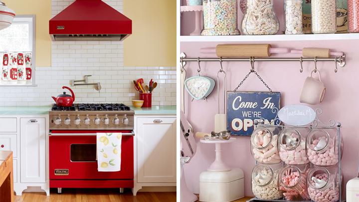 Accesorios de cocina vintage vintage kitchen set ms de for Accesorios de cocina vintage