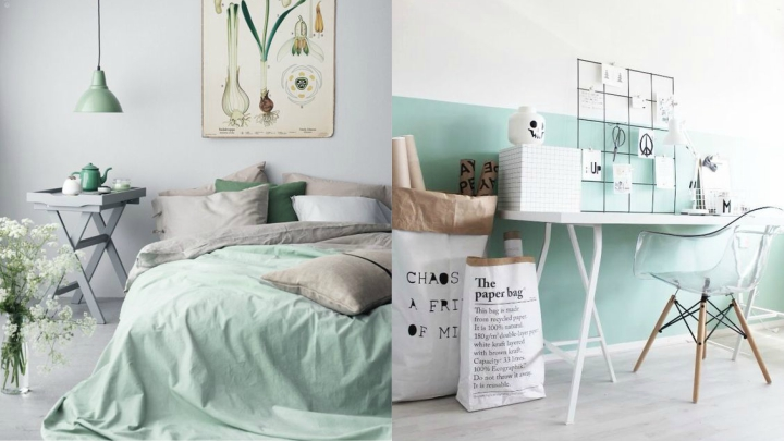 Decoraci n mint 6 ideas para llevar el verde a tu hogar for Decoracion hogar verde