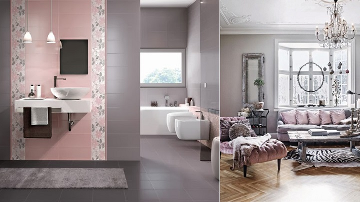 Colores que combinan con el rosa en decoraci n for Combinar colores decoracion salon