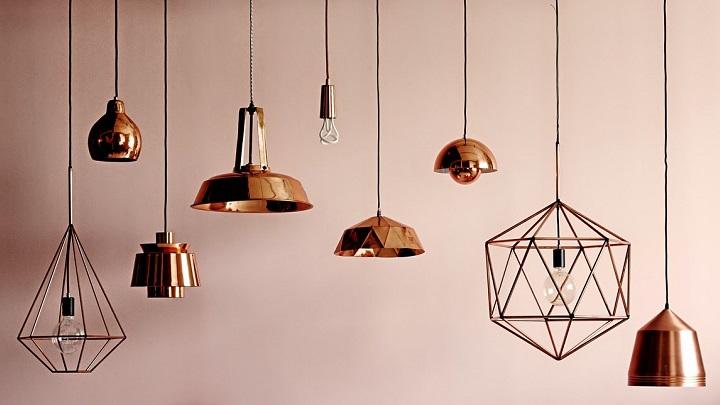 lmparas de cobre