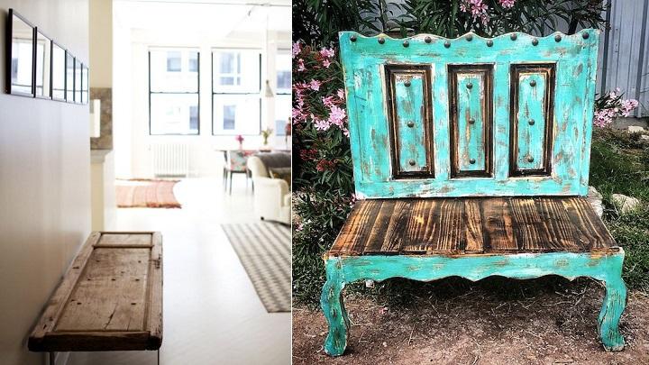 10 ideas para reciclar puertas viejas for Imagenes de puertas viejas