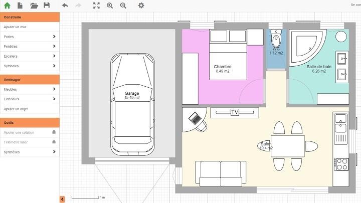 Aplicaciones para hacer planos de casas for Crear planos casas