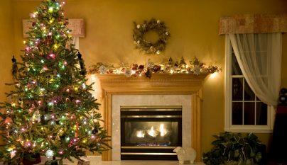 Fotos de chimeneas decoradas para la navidad - Chimeneas campos sl ...
