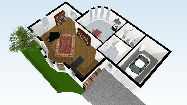 Aplicaciones para hacer planos de casas Modelo de viviendas para construir