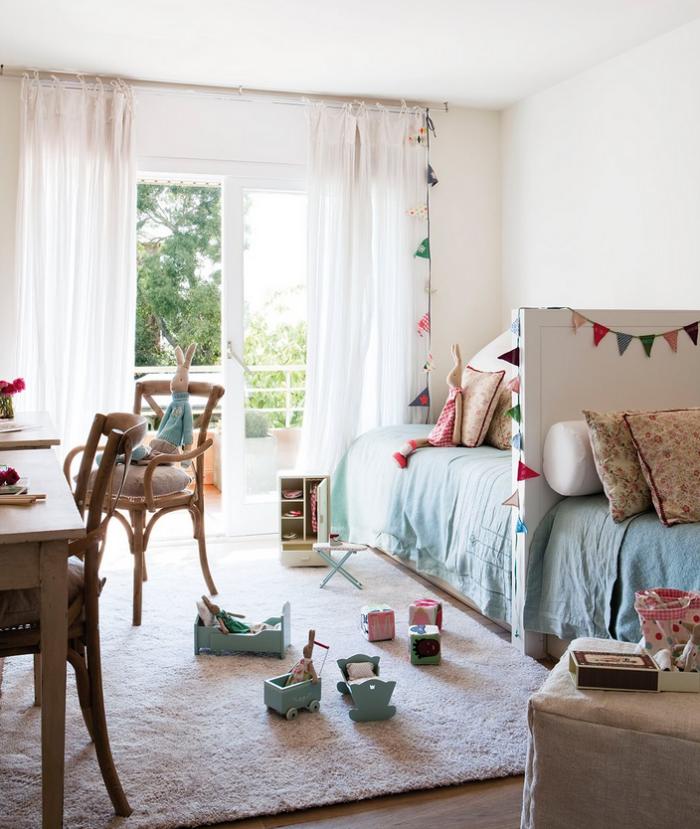 Ideas decorar dormitorios hermanos 21 for Habitaciones infantiles pequenas para dos