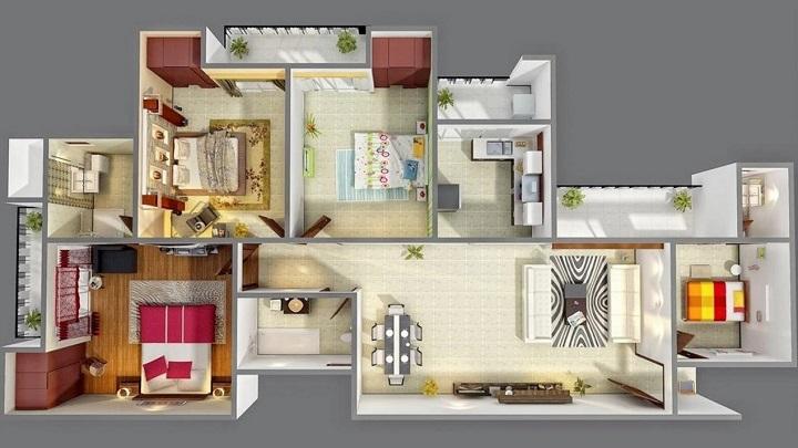Aplicaciones para hacer planos de casas - Crear casas 3d ...
