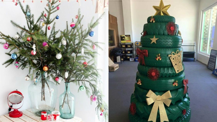 Ideas para decorar un garaje en navidad - Decoracion con ruedas ...