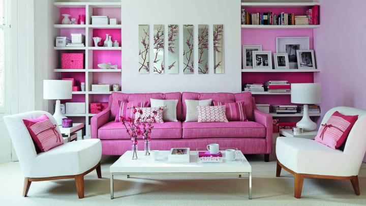 decoracion-color-rosa