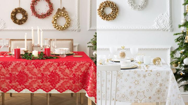 Manteles para la mesa de navidad for Comedor zara home