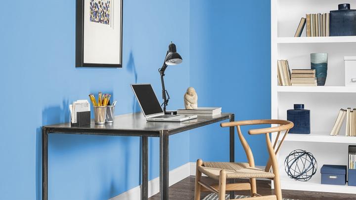 Colores recomendables para pintar una oficina for Unas para oficina