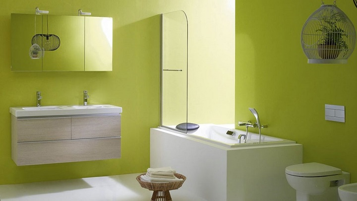 Colores recomendados para pintar el ba o - Pintar el bano ...