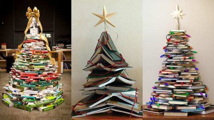 DIY-arbol-navidad-libros