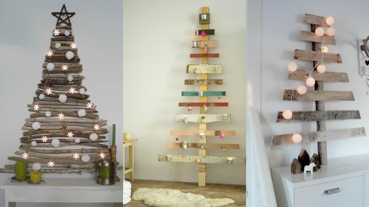 diy arbol navidad madera - Arbol De Navidad De Madera