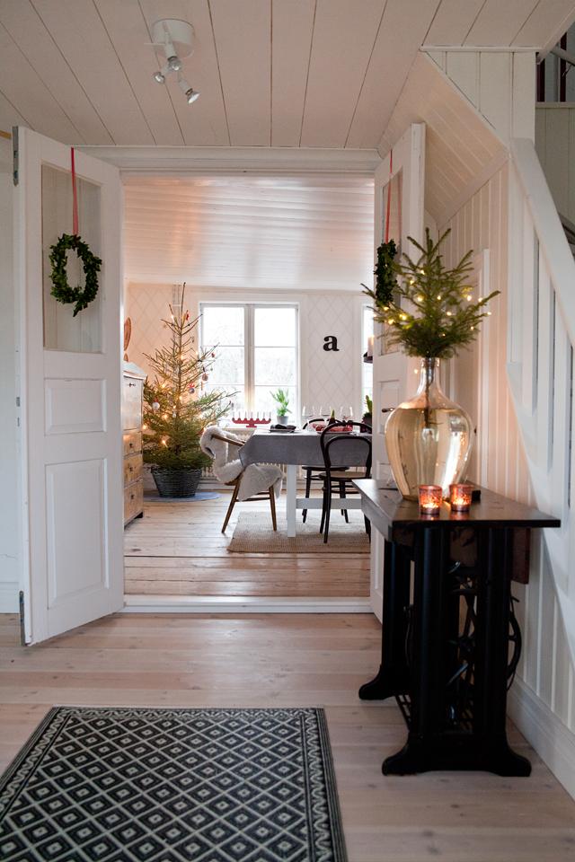Ideas recibidor navidad 6 - Ideas para decorar recibidor ...