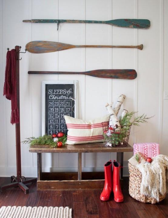 Ideas recibidor navidad 9 - Ideas para decorar recibidor ...