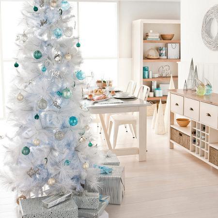 Navidad blanco29 - Decoracion muebles blancos ...