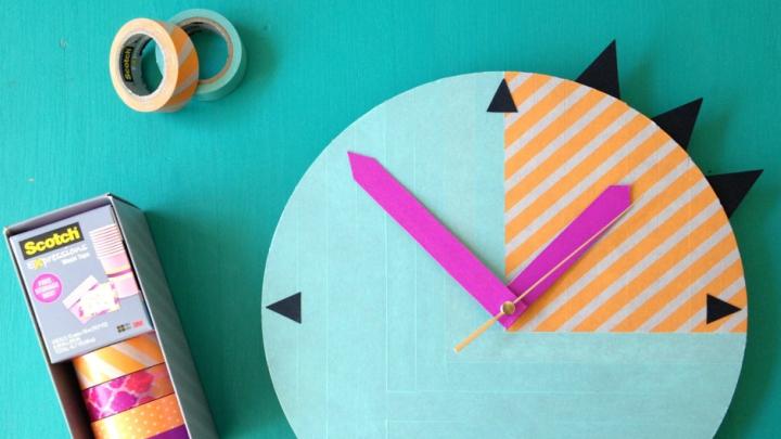 Reloj-Washi-tape