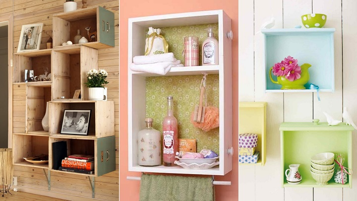 Ideas para reciclar cajones for Todo decoracion hogar