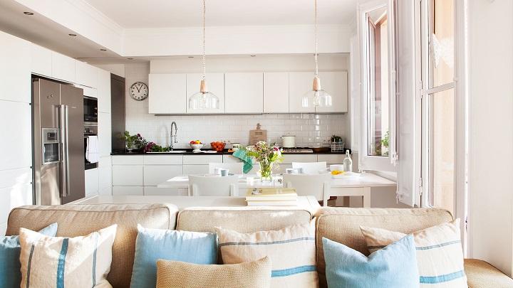 Tendencias en cocinas 2017 for Cocinas abiertas al comedor