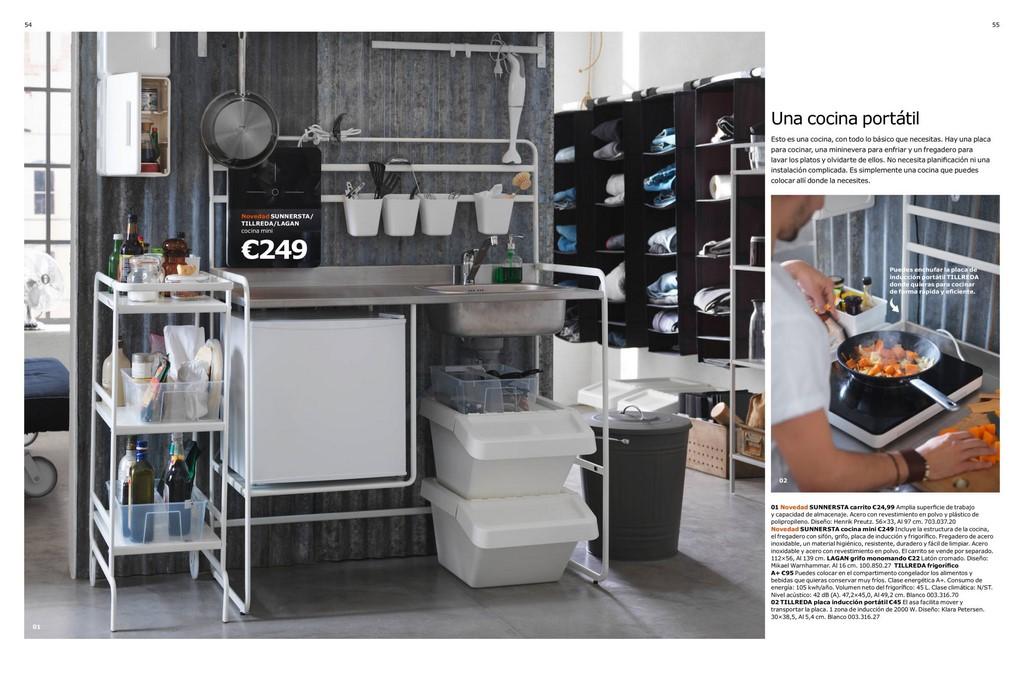 Decorablog revista de decoraci n - Cocina portatil ikea ...