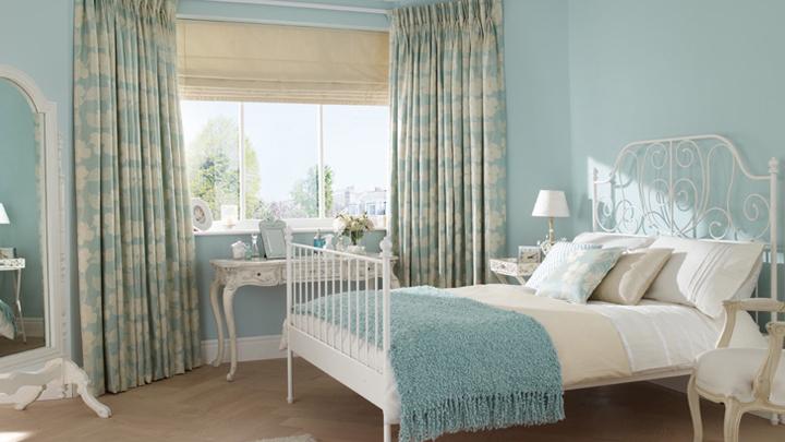 Combinaciones de colores para pintar el dormitorio - Pintar pared dormitorio ...