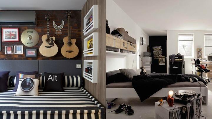 dormitorio-juvenil-musica