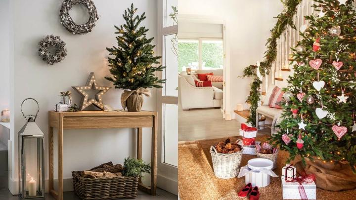 Ideas para decorar el recibidor en navidad - Ideas decorar recibidor ...