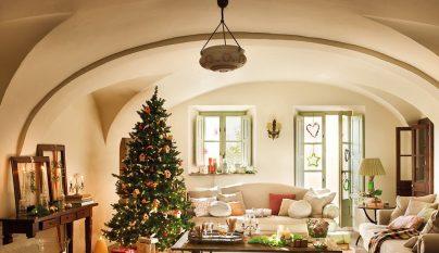 Decorablog revista de decoraci n - Salones decorados para navidad ...